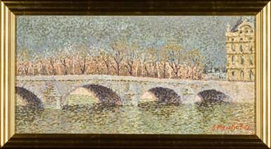 View 2. Thumbnail of Lot 66. Pont du Louvre avant L'orage.