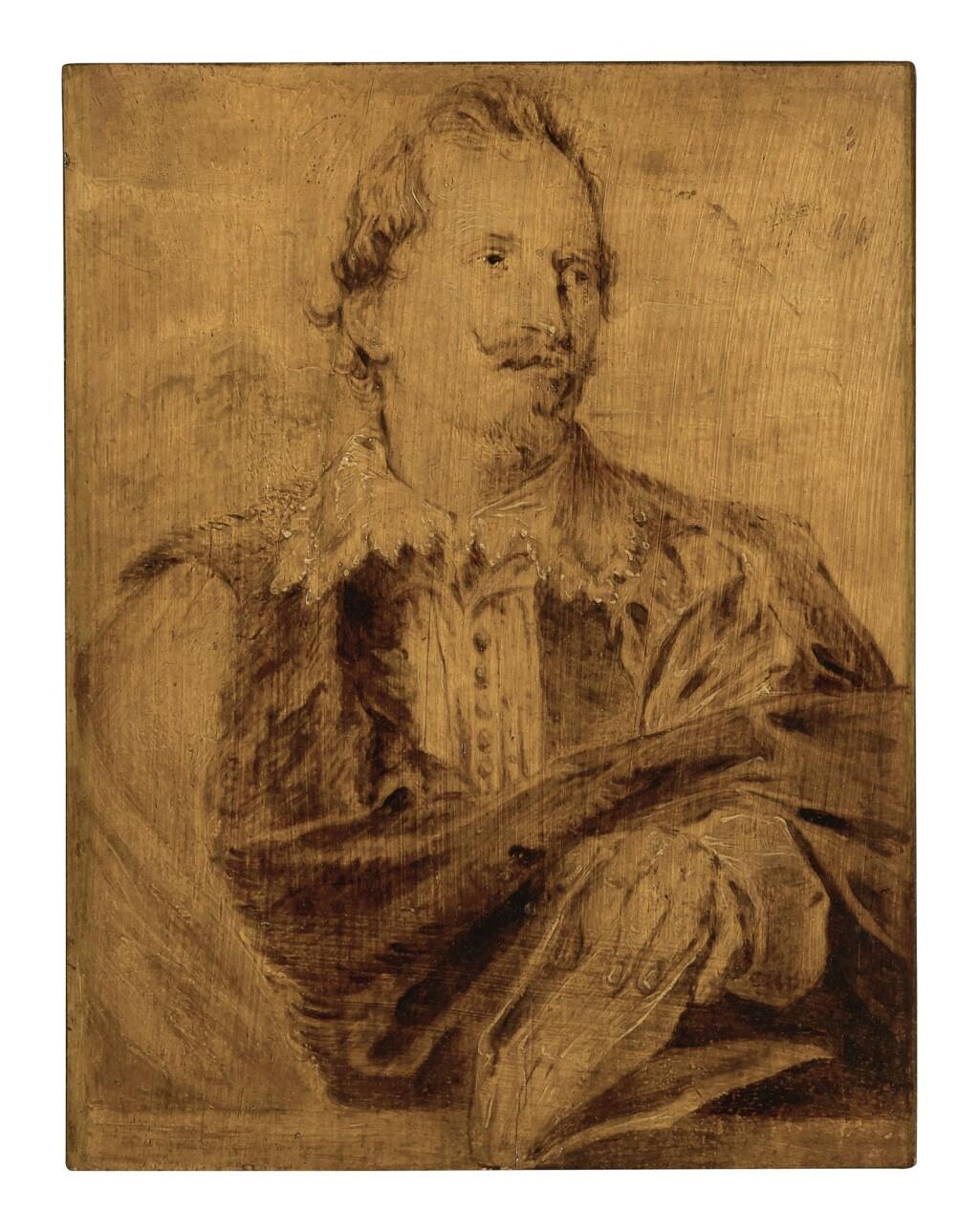 CIRCLE OF SIR ANTHONY VAN DYCK   PORTRAIT OF JEAN-GASPARD GEVAERTS (1593-1666)