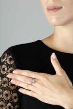 IMPORTANT FANCY PINK DIAMOND RING