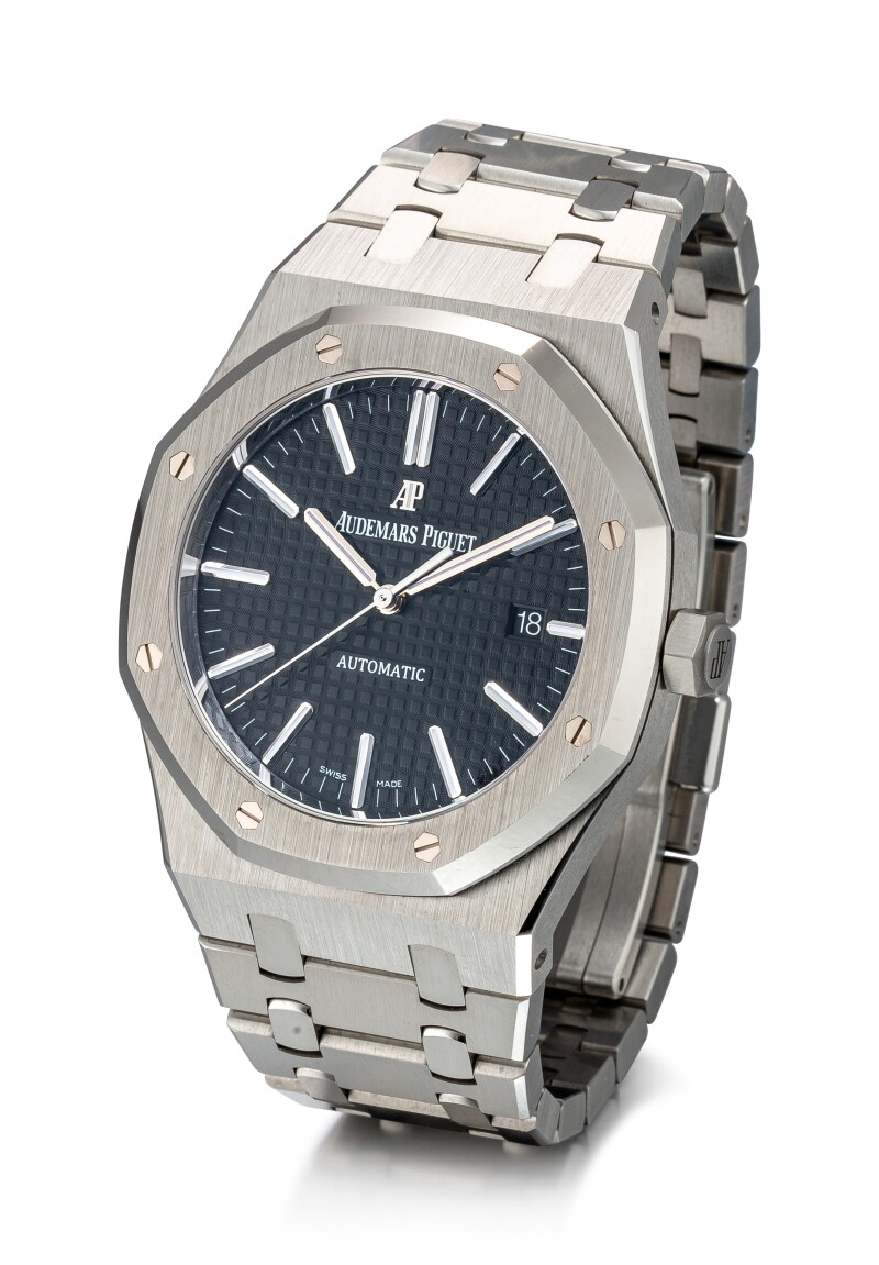Royal Oak, Reference 15400ST A Stainless Steel Bracelet Watch With Date, Circa 2019