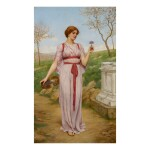 JOHN WILLIAM GODWARD, R.B.A. | THE POSY
