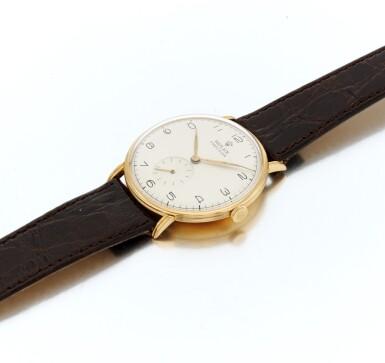 View 3. Thumbnail of Lot 47. Wristwatch (Orologio da polso).