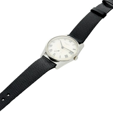 View 4. Thumbnail of Lot 235. Reference 3558G A white gold wristwatch with date, Made in 1971 .