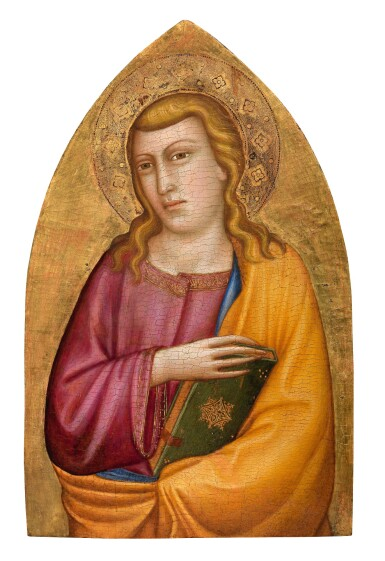 View 1. Thumbnail of Lot 4. SILVESTRO DEI GHERARDUCCI | SAINT JOHN THE EVANGELIST.