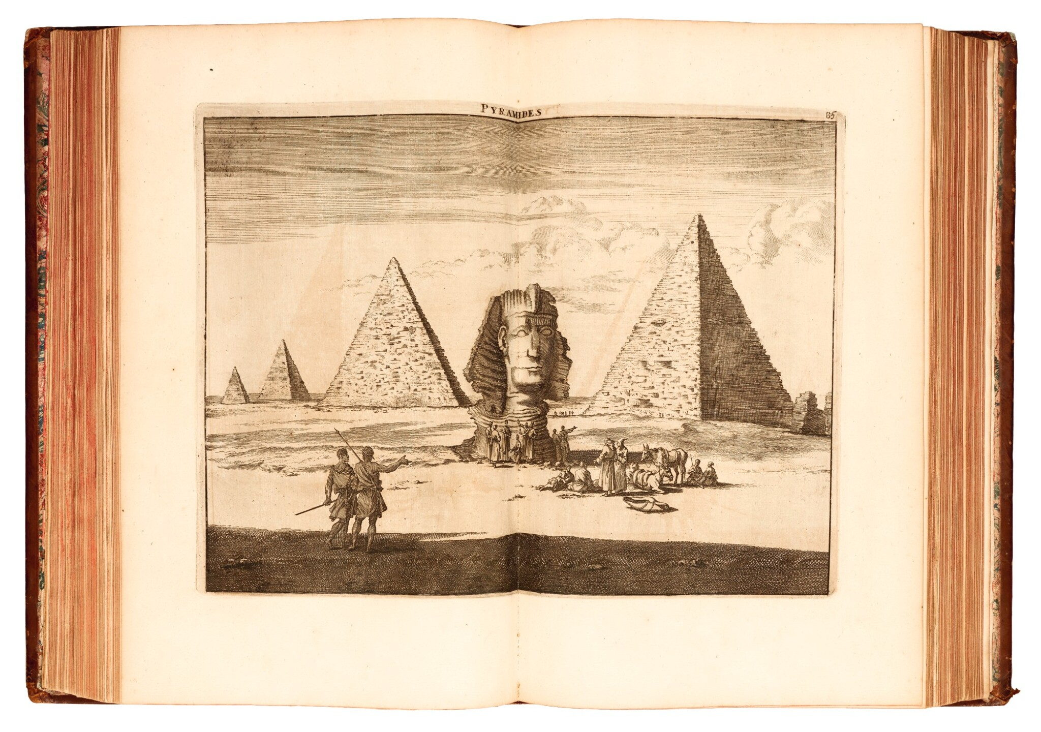 View full screen - View 1 of Lot 163. Bruyn | Voyage au Levant, 1700.