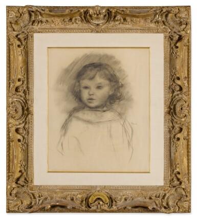 View 2. Thumbnail of Lot 166. Buste d'enfant, Pierre Renoir.