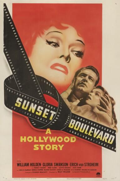Sunset Boulevard (1950) poster, US