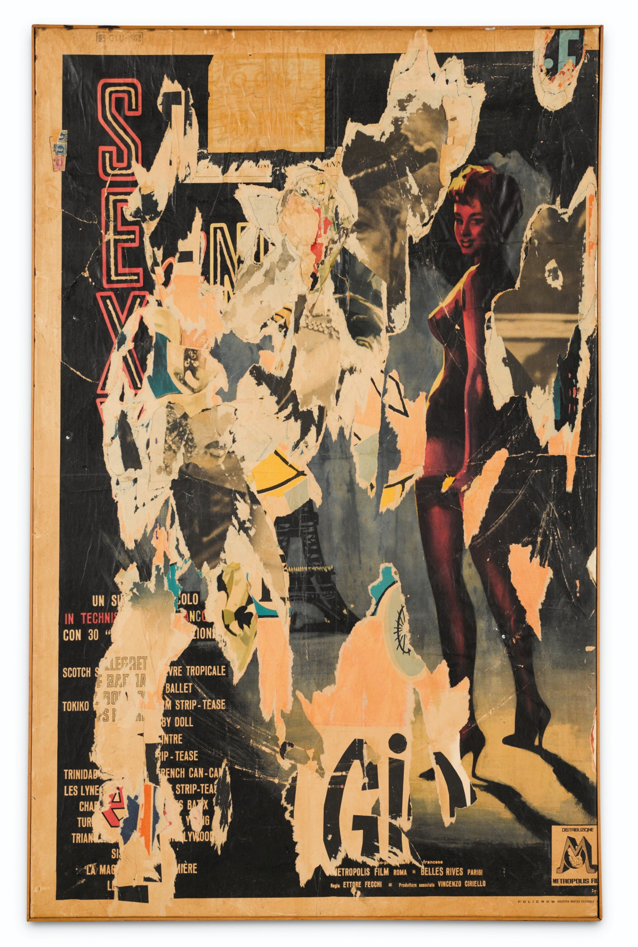 View 1 of Lot 110. MIMMO ROTELLA | SEXY.