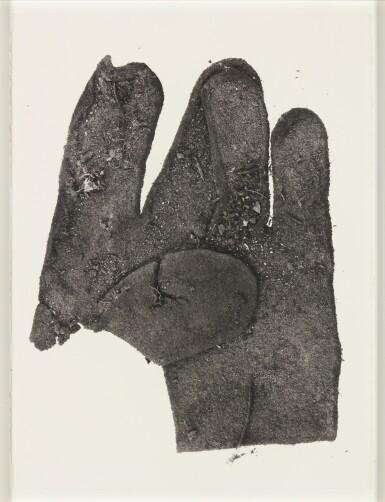 IRVING PENN | FLAT GLOVE, 1975