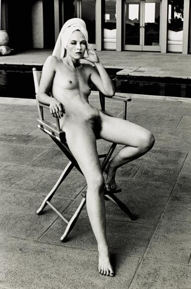 View 1. Thumbnail of Lot 66. HELMUT NEWTON | 'MISS LIVINGSTONE (SITTING)', BEVERLY HILLS, 1981.