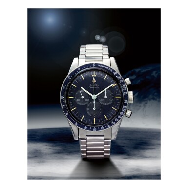 OMEGA |  SPEEDMASTER REF 105.003-65 'SOFT GRAY DIAL',  A STAINLESS STEEL CHRONOGRAPH WRISTWATCH WITH BRACELET, MADE IN 1967