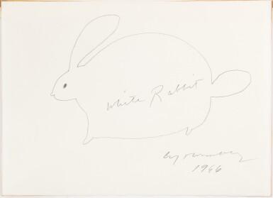 View 2. Thumbnail of Lot 61. White Rabbit.