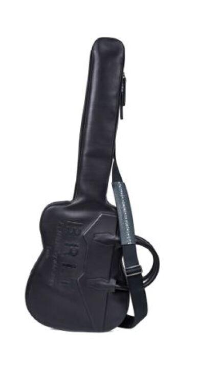 View 6. Thumbnail of Lot 9. Berluti | Amplifier, Guitar with Case and Boots (Ampli, Guitare avec Housse et Bottine) [5 Items / Articles].