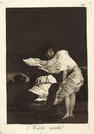 View 3. Thumbnail of Lot 38.  FRANCISCO JOSÉ DE GOYA Y LUCIENTES | LOS CAPRICHOS (DELTEIL 38-117; HARRIS 36-115).