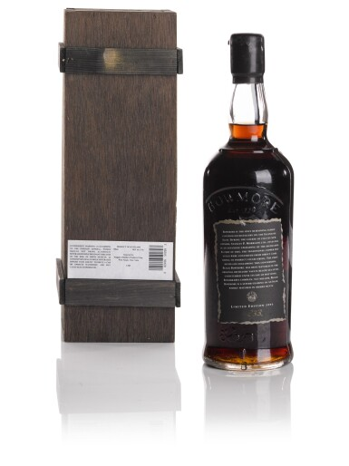 View 2. Thumbnail of Lot 320. BOWMORE BLACK FIRST RELEASE 50.0 ABV 1964   .