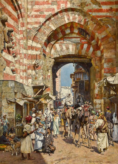 WILLIAM LOGSDAIL | THE GATES OF THE KHALIFA, CAIRO