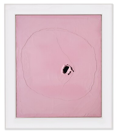 View 2. Thumbnail of Lot 52. LUCIO FONTANA   CONCETTO SPAZIALE.
