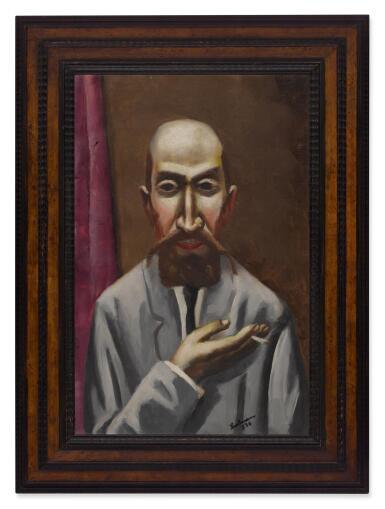 View 2. Thumbnail of Lot 54. Bildnis eines Türken (Portrait of a Turk).