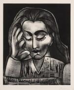 PABLO PICASSO | JACQUELINE LISANT (B. 1181; BA. 1292)