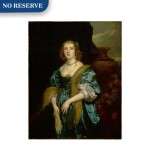 Portrait of Anne Russell (née Carr), Countess of Bedford (1615 - 1684), three-quarter length