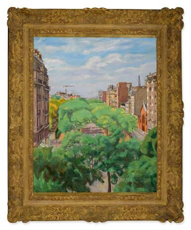 View 2. Thumbnail of Lot 35. SIMON MONDZAIN   BOULEVARD EDGAR QUINET, PARIS (XIVE).