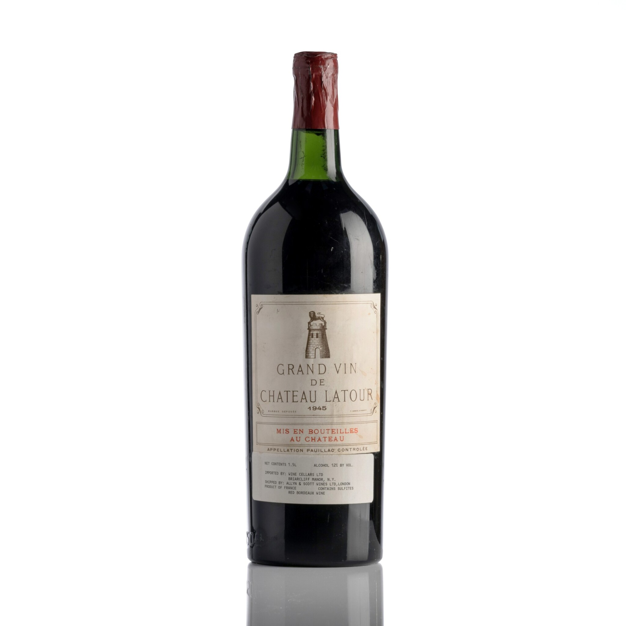 View full screen - View 1 of Lot 247. Château Latour 1945  (1 MAG).