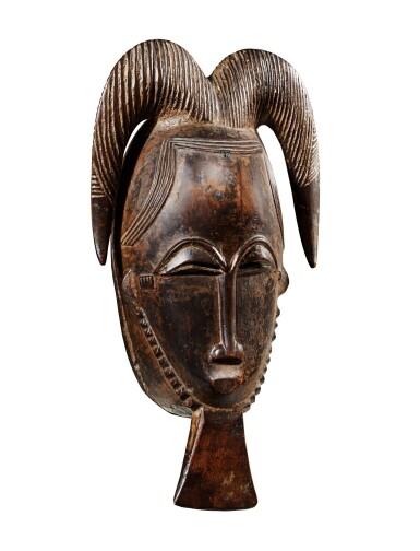 View 2. Thumbnail of Lot 23. Masque, Baulé, Côte d'Ivoire   Baule mask, Côte d'Ivoire     .