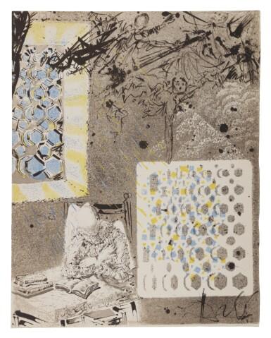 View 7. Thumbnail of Lot 79. Pages choisies de Don Quichotte de la Manche (Michler/Löpsinger 1001-1012; Field 57-1).
