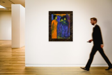 View 4. Thumbnail of Lot 38.  EMIL NOLDE | HULDIGUNG (HOMAGE).