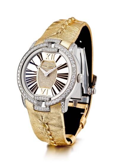 View 2. Thumbnail of Lot 8078. ROGER DUBUIS | VELVET | A LIMITED EDITION WHITE GOLD AND DIAMOND-SET WRISTWATCH, CIRCA 2018 | 羅杰杜彼 | Velvet 限量版白金鑲鑽石腕錶,約2018年製.