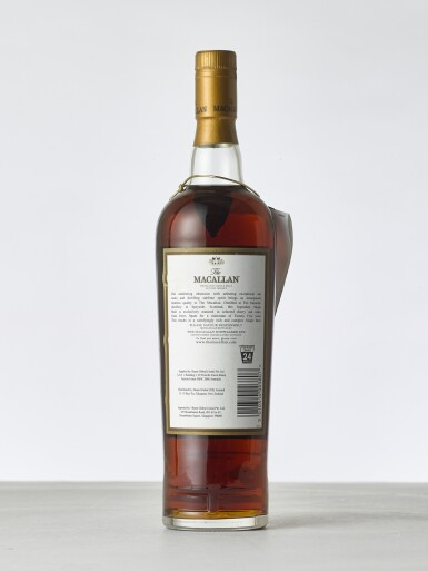 View 2. Thumbnail of Lot 2019. Macallan, 25 Year Old Sherry Cask NV (1 BT70).