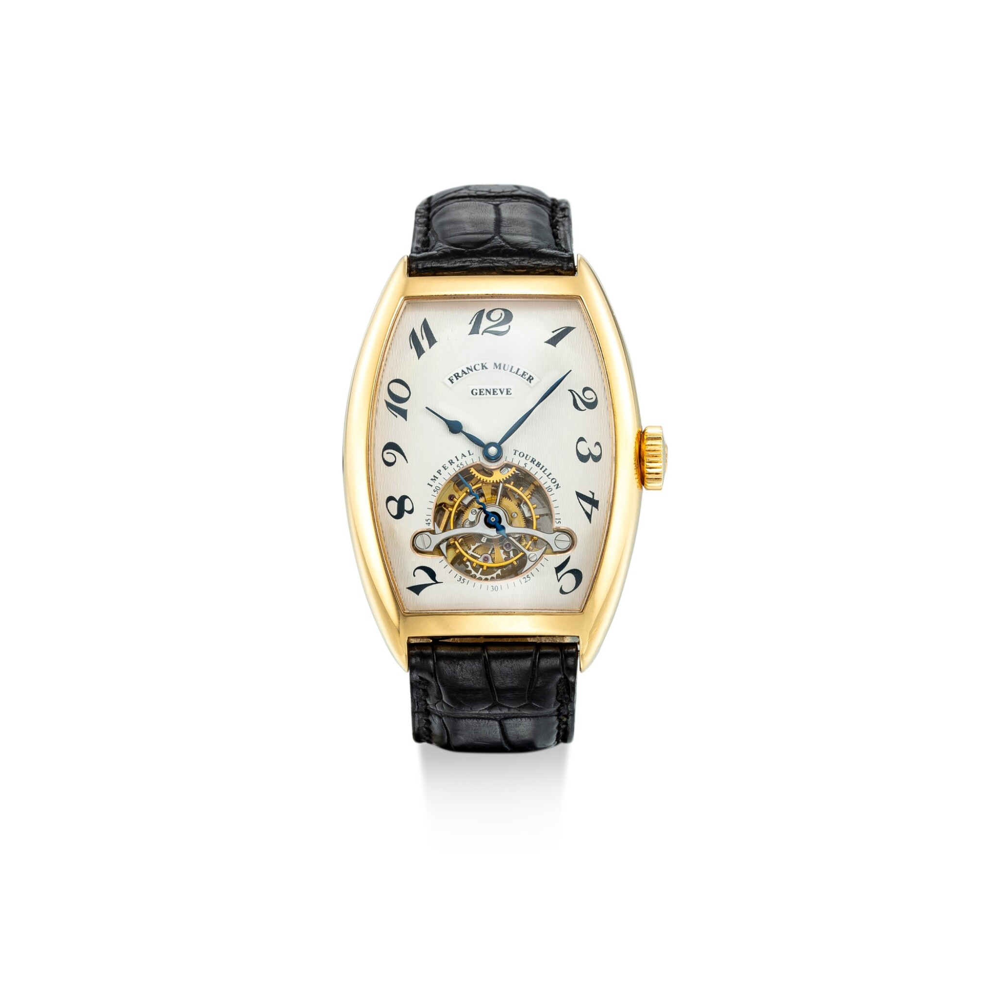 View 1 of Lot 1104. FRANCK MULLER | IMPERIAL TOURBILLON, REFERENCE 5850 T, A YELLOW GOLD TOURBILLON WRISTWATCH, CIRCA 2005.