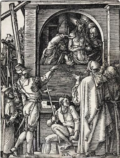 ALBRECHT DÜRER | ADAM AND EVE; AND ECCE HOMO (B. 17, 358; M., HOLL. 126, 144)
