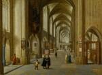 The Interior of a Gothic Church | 《哥德式教堂內部》