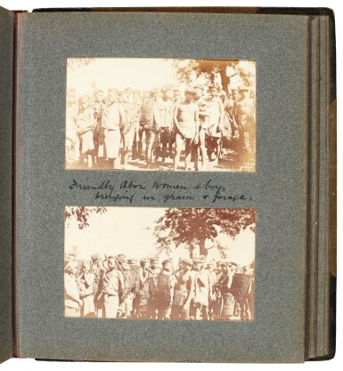 View 2. Thumbnail of Lot 308. India, Abor Expedition | 4 photograph albums, 1911-12.