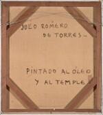 JULIO ROMERO DE TORRES | La 'Cantaora', Retrato de Sara Secades (The 'Singer', Sara Secades)