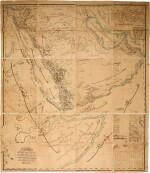 Arabia   A large Ottoman map of the Arabian Peninsula,1872