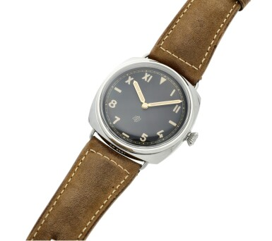 View 6. Thumbnail of Lot 108. Reference PAM00424 Radiomir California   A stainless steel wristwatch, Circa 2016.