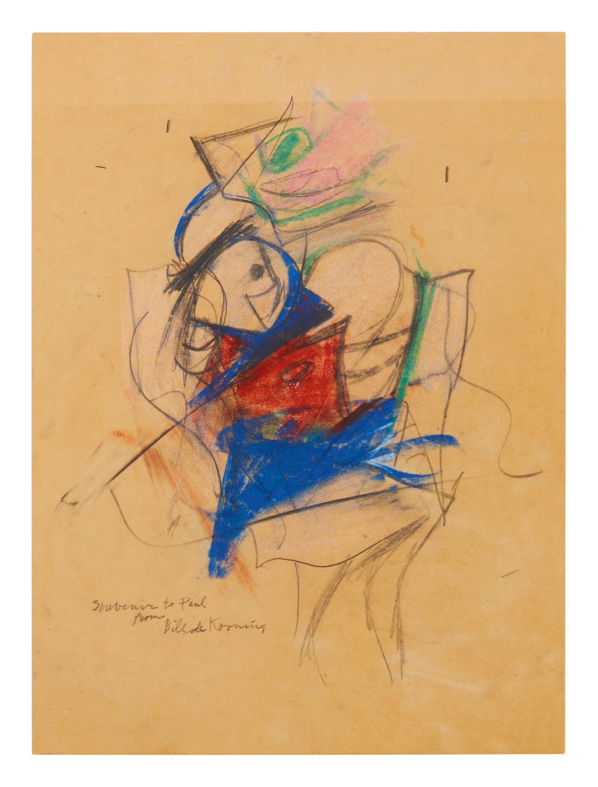 View full screen - View 1 of Lot 36.  WILLEM DE KOONING | UNTITLED (WOMAN).