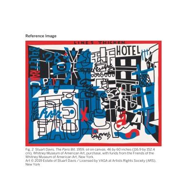 View 3. Thumbnail of Lot 29. STUART DAVIS | RUE VERCINGÉTORIX.
