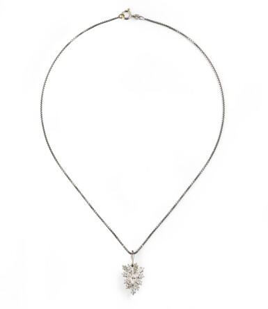 Diamond pendant [Pendentif diamants]
