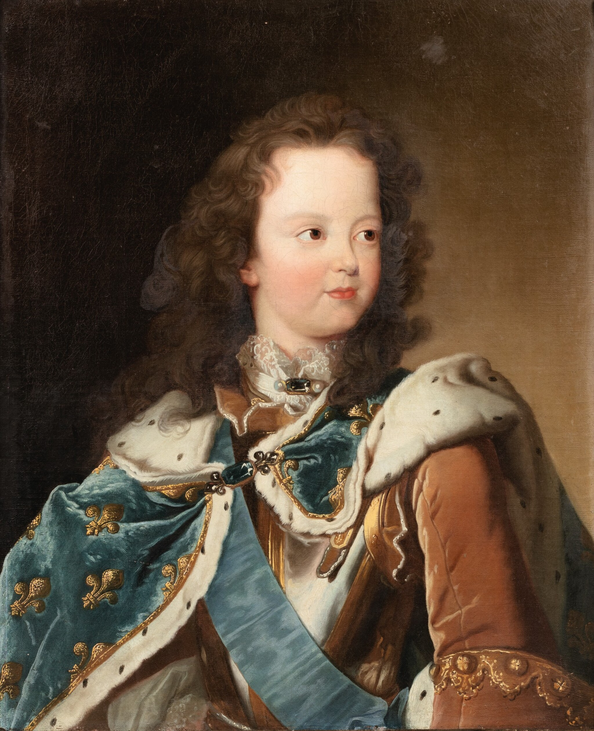 View full screen - View 1 of Lot 84. Portrait of Louis XV as a child.