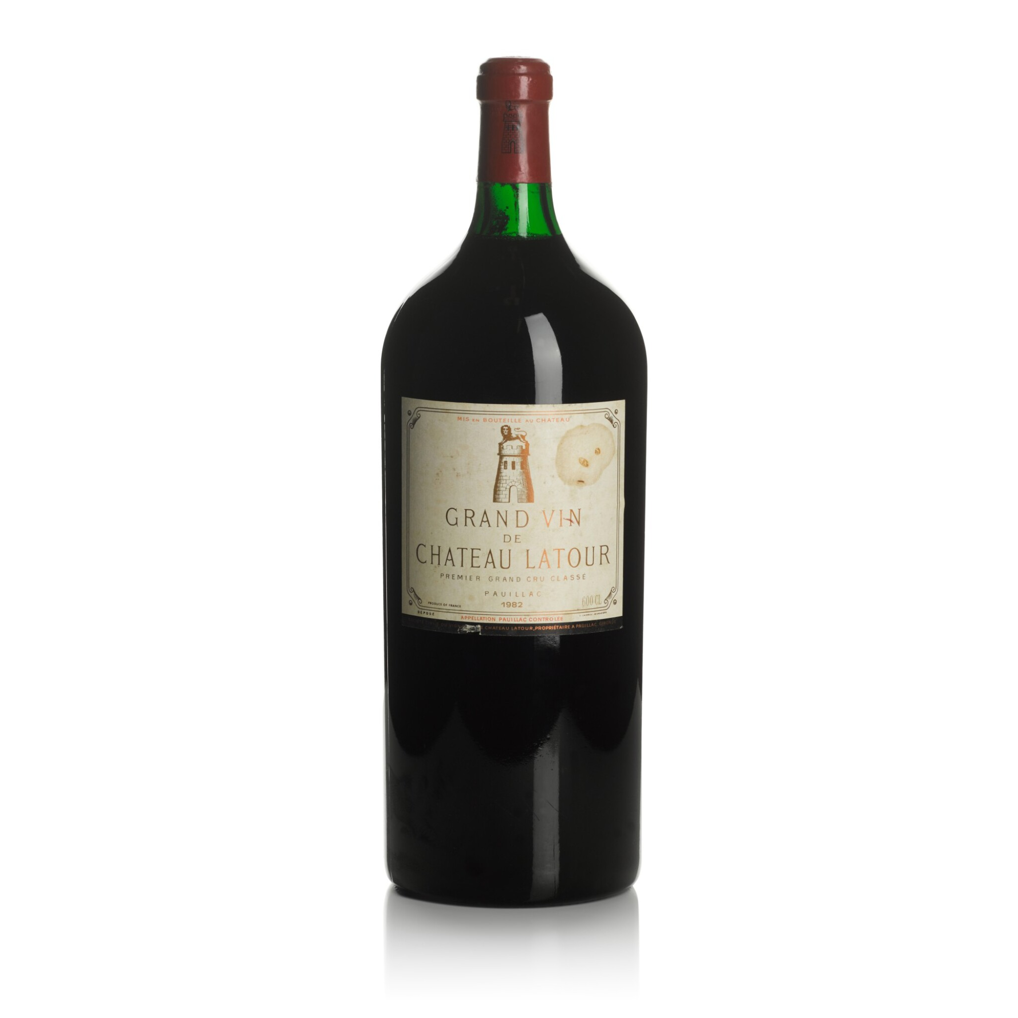 View full screen - View 1 of Lot 2. Château Latour 1982  (1 IMP).