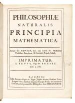 Newton, Philosophiae naturalis principia mathematica, London, 1687, contemporary vellum