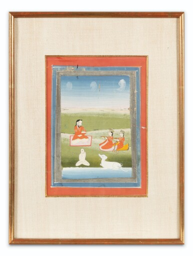 View 8. Thumbnail of Lot 36. INDIA, RAJASTHAN, PAHARI, LATE 18TH CENTURY AND 19TH CENTURY | FIVE INDIAN MINIATURES .