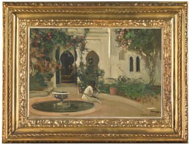 View 2. Thumbnail of Lot 39. SIR JOHN LAVERY, R.A., R.H.A., R.S.A. | A MOORISH GARDEN.
