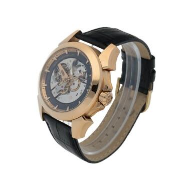 View 2. Thumbnail of Lot 25. Ref. GTM 06 Pink gold minute repeating tourbillon wristwatch Circa 2008 | Grönefeld GTM 06型號粉紅金三問陀飛輪腕錶,年份約2008.