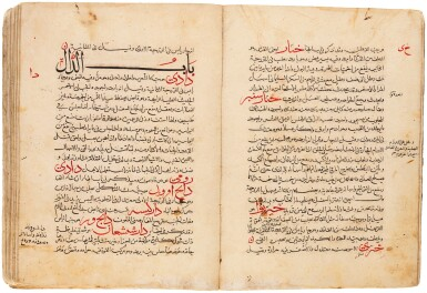 View 1. Thumbnail of Lot 116. ABU 'ALI YAHYA B. 'ISA B. JAZLAH AL-BAGHDADI, KNOWN AS BEN GESLA (D.1099 AD), KITAB MINHAJ AL-BAYAN FI-MA YASTA'MILUHU AL-INSAN, ('A SYSTEMATIC EXPOSITION OF WHAT IS USED BY MAN'), MESOPOTAMIA OR WEST PERSIA, LATE 13TH/14TH CENTURY.