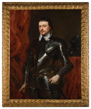 View 2. Thumbnail of Lot 35. Portrait of Thomas Wentworth, 1st Earl of Strafford (1593-1641) .