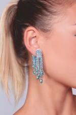 PAIR OF AQUAMARINE AND DIAMOND EARRINGS, MICHELE DELLA VALLE